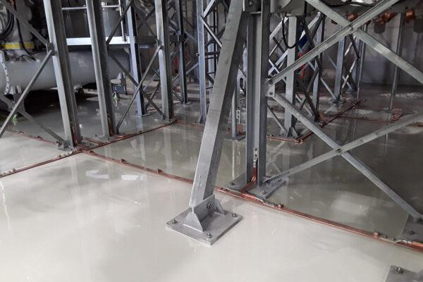 Beschichtung für mechanische-chemische Beanspruchungen (2)