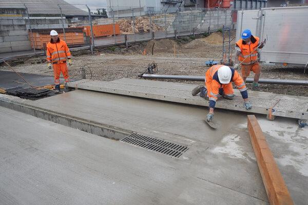 Possehl Betondeckeneinbau und Vorarbeiten (3)