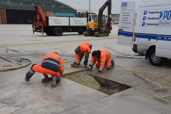 Possehl Betondeckeneinbau und Vorarbeiten (6)